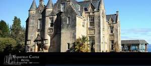Safe 55% on a 2 Day stay for 2 at a 4* Castle Hotel in Scotland including Dinner (AA Rosette) & Welcome Drink £159 @ 5pm.co.uk