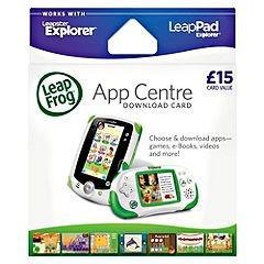 Leapfrog Explorer App Centre Download Card - Half Price Instore @ Sainsbury's £7.49