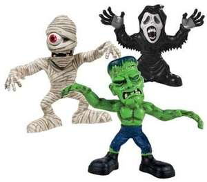 Stretch Screamers Mummy, Frankenstein and Ghoul Assortment £7.99 Less than Half Price @ Argos