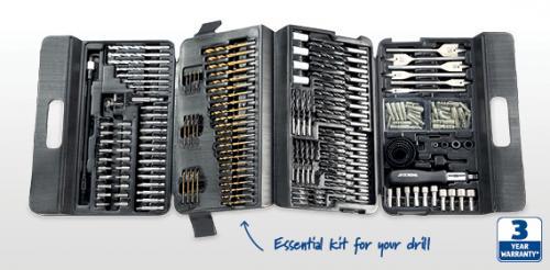 204 Piece Drill Bit Set  £16 99 ALDI instore