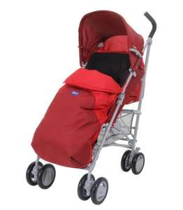 Chicco London Red Wave Stroller for £35.95 inc home delivery @ Asda (inc Footmuff & Raincover)