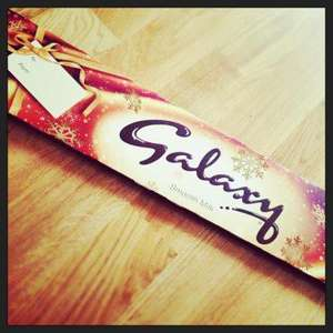 1 KILOGRAM kg OF GALAXY CHOCOLATE REDUCED TO £2.49 at TESCO