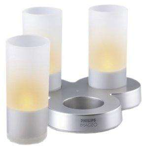 Philips Imageo LED Rechargeable Candle Lights, White - £16.99 delivered at Amazon