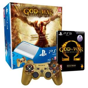 Sony PlayStation 3  Super Slim Console 500GB The God of War: Ascension Pack £249.00 @ Amazon