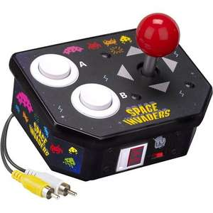 SPACE INVADERS TAITO PLUG AND PLAY 10 GAMES RETRO - £7.99 @ ARGOS