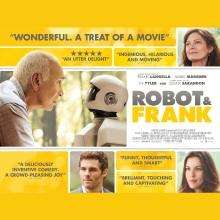 Free for Times plus members: Robot and Frank film preview 26th Feb
