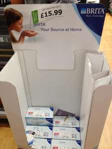 Brita Maxtra Cartridge 6 pack £12.79 instore @ Dunelm Mill  ..makes it £2.13 per cartidge