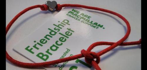 Friendship Bracelet (Macmillan Cancer Support) £1 @ Poundland & Bonmarché