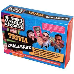 Guinness world records trivia challange £3 @ K&co.
