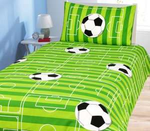 ASDA Football Duvet Cover and Pillow Case - Single £4.50 @ ASDA direct
