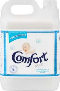 Comfort Concentrate Pure / Sunshine (5 Litres) £5.38 @ Costco