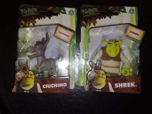 Shrek 4 Forever After figures Poundworld