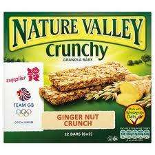 Nature Valley Ginger nut crunch bars £1.00 @ Poundland