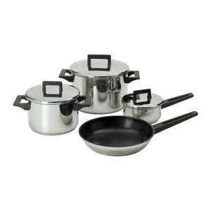 Set of induction saucepans for £25 at Ikea