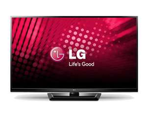 LG 50in Plasma TV 600Hz HD Ready Free Delivery £399 @ Ebuyer
