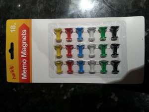 Memo fridge magnets £1.00 @ Tesco instore