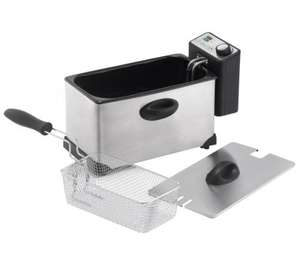 LOGIK L30PFS12 Professional Deep Fryer – Stainless steel HALF PRICE £14.99 @ Currys