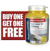 Cod Liver Oil Capsules BOGOF at Simply Supplements  - £4.89 for 120 caps. free delivery