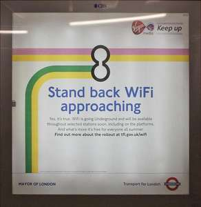 Free Wi-Fi on the London Underground for Vodafone PAYG and Pay Monthly customers