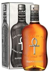 Isle of Jura Superstition lightly peated whisky - £23.79 @ Morrisons