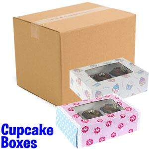 Cupcake Boxes (Case of 72 Boxes)  £28.44 @ Home Bargains