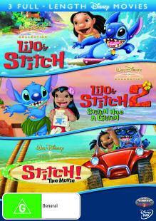 Disney's Lilo and Stitch Triology Boxset DVD £8 (plus 300 disney rewards) INSTORE @Asda