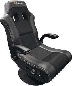 X-Rocker Pedestal Gaming Chair £99.99 In-store Argos.  R&C