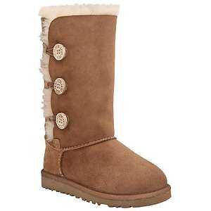 Ugg Bailey Triplet Boots, Chestnut Junior Size 12 & 13 and Adults size 1 £85 @ John lewis