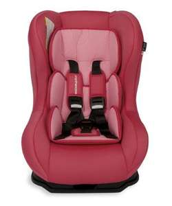 50% off  Pink Mothercare Madrid Car seat (birth to 4 years approx) £39.99