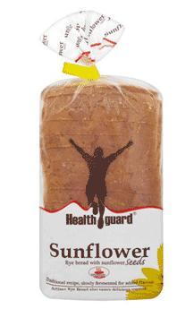 Healthguard Sunflower Artisan Rye Bread @ Sainsburys Islington