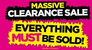REPUBLIC @ Massive Clearance Sale now on   In Store