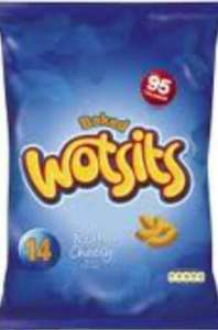 Wotsits/French Fries/Quavers (14 pack) for 75p @ ASDA