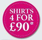 Charles Tyrwhitt 4 shirts for £90 (extra 10% off)