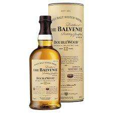 The Balvenie 12yr old Doublewood Malt 70Cl £26.80 Tesco