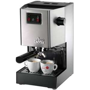 Gaggia Classic RI8161 Coffee Machine £156.45 (can be £111.45 if you have 3 Amex card)@Amazon with free next day Delivery