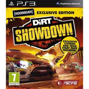 Dirt Showdown *Exclusive* Hoonigan Edition PS3 Game £9.85 from Shopto.net