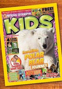 6 Months Subscription to National Geographic kids £9 with Amazon Local