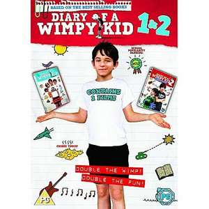 Diary of a wimpy kid 1 + 2 box set @ Asda Direct - £3