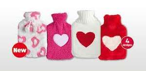 Aldi Valentines hot water bottle reduced to £1.99 4 different designs available