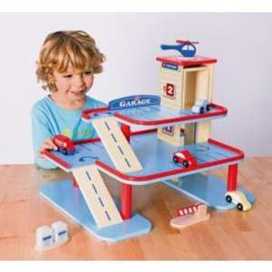 Chad Valley Wooden Garage £7.99 @ Argos