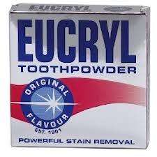 £1 Eucryl Stain Removal Toothpowder ~ Poundland