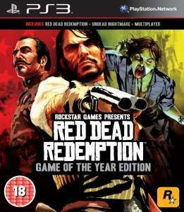 Red Dead Redemption Game Of The Year Edition (PS3 & 360) £13.48 with code @ thehut