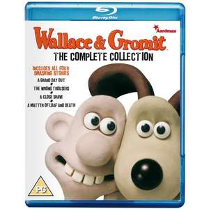 Wallace And Gromit The Complete Collection [Blu-Ray] - £7 @ Amazon.co.uk