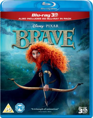 Brave: DVD (500 Points) Blu-ray (700 Points) Blu-ray 3D (900 Points) FREE with Disney Movie Rewards