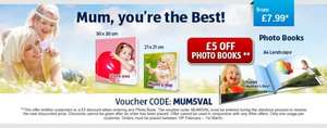Mothers Day - £5 off all Aldi Photobooks with voucher code MUM5VAL -  £7.99 reduced to  £2.99