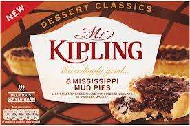 New Mr Kipling Mississippi Mud Pie cakes - pack of 6 for £1.50 @ Co-op