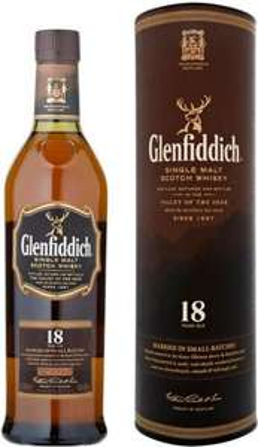 Glenfiddich 18yr single malt 70 cl at Tesco (was £40,then £30) now £20