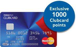 0% on balance transfers  for 23 months from account opening, 2.9% fee + 1000 point with Tesco Bank