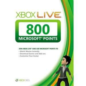 Xbox Live 800 Points - INSTANT CODE for Xbox 360 for £5.99 @ Simply Games