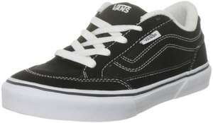Vans Kids Junior Skate Shoe in sizes 10 ,11 or 12 were £28 now £11.20 delivered @ Amazon
